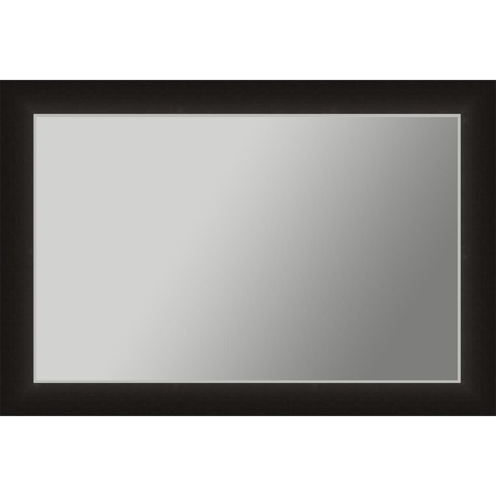 V 1002 Vanity Mirror 36 X 48 Espresso Frame 2 Inch