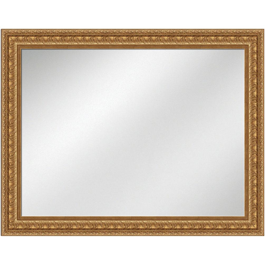 V-1280 Gold Frame 36 x 48 Vanity Mirror 3 9/16 inch Width | Artforhotel