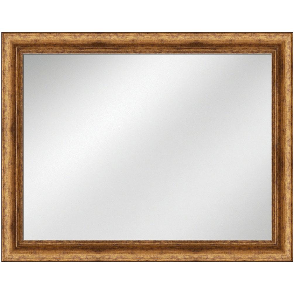 V 1292 Antique Gold Frame 36 X 48 Vanity Mirror 3 12 Inch Width