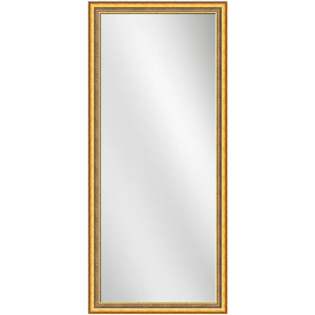 F 1610 Gold Frame 24 x 60 Full Length Mirror 2 1 2 inch