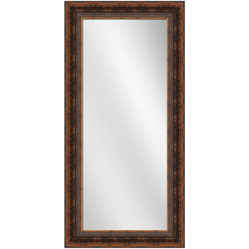 F 1894 antique bronze frame 24 x 60 full length mirror 5 1 for 60 inch framed mirror