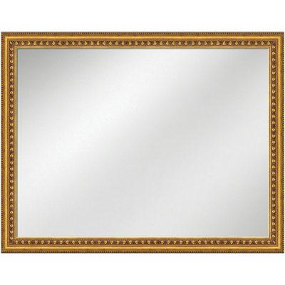 V-1001 Vanity Mirror 36 x 48 Flat Black Frame 2 inch | Artforhotel