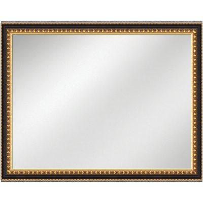V 1106 Gold Frame Wblack 36 X 48 Vanity Mirror 2 12 Inch Width