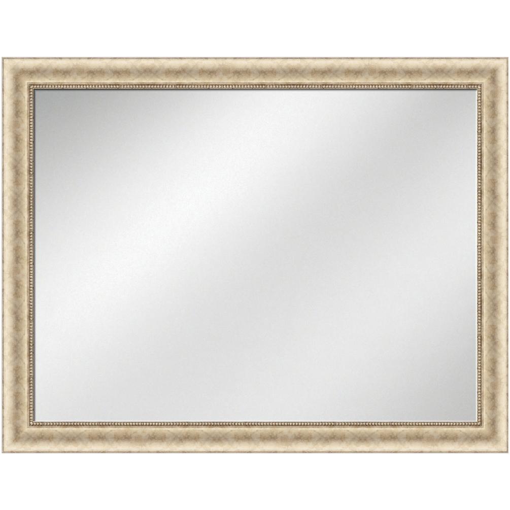 V-1122 Silver Frame 36 x 48 Vanity Mirror 2 7/8 inch Width | Artforhotel