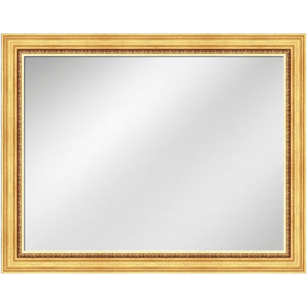 V-1110 Gold Frame 36 x 48 Vanity Mirror 2 1/2 inch Width | Artforhotel