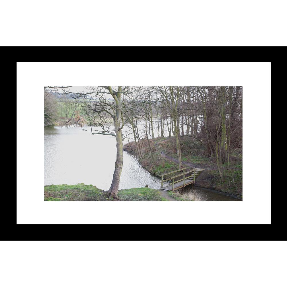 L-27774 Lakedsides Landscape 24 x 36 Framed Available In Custom ...