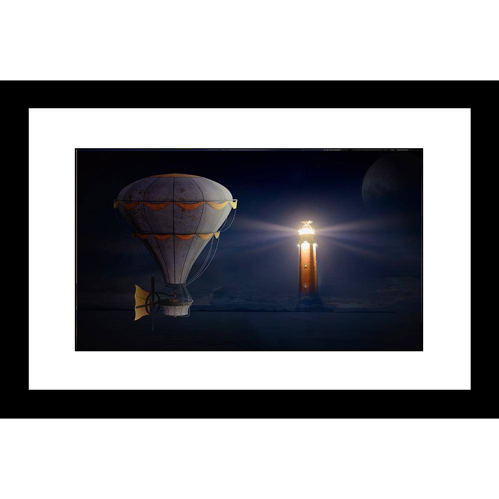LH-5826 LightHouse 24 x 36 Framed Available In Custom